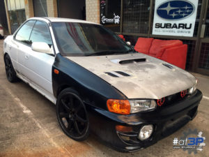1999 Subaru Impreza WRX GC8 Only For Wrecking Parting Out